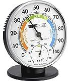TFA Dostmann Präzisions Thermo-Hygrometer,45.2033 , zur Raumklimakontrolle, analog, mit Komfortzonen, Kontrolle von…
