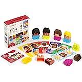 Miniland 32350 Emotiblocks Basic Emotions, Multi-Color