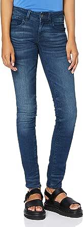 G-STAR RAW Lynn Mid Waist Skinny Jeans Donna