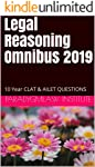 Legal Reasoning Omnibus 2019: 10 Year CLAT & AILET QUESTIONS