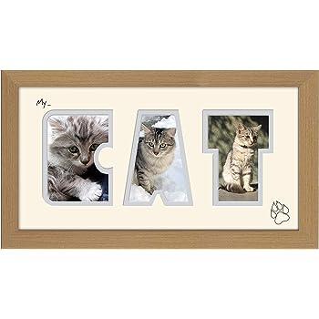 I Love My Cat Photo Frame: Amazon.co.uk: Kitchen & Home