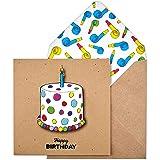 """tache TC242Premium fatto a mano""""Happy Birthday"""" torta di"""