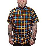 mazeys Mens Checked Shirts