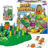 Ravensburger 20851 - Lotti Karotti, Gesellschaftsspiel für Kinder und Erwachsene, 2-4 Spieler, ab 4 Jahren - inklusive…