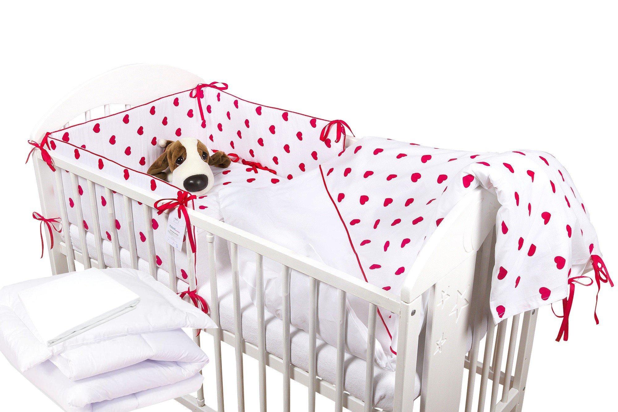 callyna®–Set 6pcs biancheria letto evolutivo per neonato 140x 70cm: Torre di letto, copripiumi