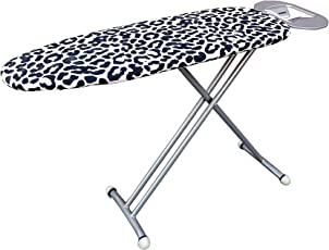 PENG ESSENTIALS Steel Ironing Board (Black and Grey)