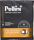 Pellini - Ground Coffee Espresso Gusto Bar N. 46 Cremoso, 2x250g (Total 500g)
