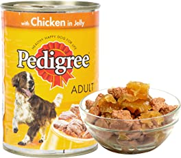 Pedigree Adult Dog Food Chicken in Jelly, 400 g Can