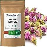 Fiori di Rosa interi Bio 100g - boccioli di rosa