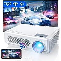 Vidéoprojecteur WiFi 5G Bluetooth Full HD, 8200 LM WiMiUS Natif 1080P Portable Rétroprojecteur Soutiens 4K, Keystone et…