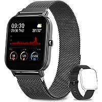AIMIUVEI Smartwatch,1.4 Zoll Touch-Farbdisplay Fitness Tracker, Wasserdicht IP67 Fitnessuhr Pulsuhren Sportuhr…