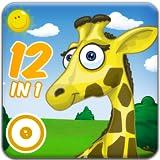 La fabuleuse Aire de Jeux des Animaux - Les 12 meilleurs jeux pour petits et grands. Puzzles, coloriages, musique, jeux de mémoire, de logique et de réflexes pour les enfants