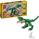 LEGO 31058 Creator LeDinosaureféroce, Modèle 3 en 1, Figurines de Dinosaures tricératops et ptérodactyle, système de Constr