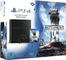 PlayStation 4 - Konsole (1TB) inkl. Star Wars Battlefront Standard Edition [CUH-1216B]