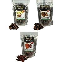 Online Quality Store Reetha Amla Shikakai (Raw Form) Combo Pack, 300 g (Pack of 3)