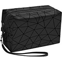 TULMAN Multipurpose Designer Pencil Pouch Stationary Accessories Holder Toiletry Pouch with Zipper - 18 x 14 x 7.5 CM…