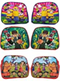 Gifts Online Cartoon Printed Sling Bags Pack of 6 Birthday Return Gift (Boys)