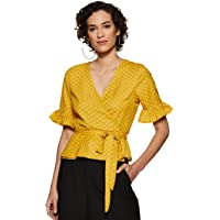 Harpa Women's Floral Regular Fit Top