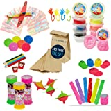 Barnkalas presentset 140 delar inklusive presentpåsar presentpåsar | XXL gåbortset perfekt för upp till 10 barn | Tombola pre