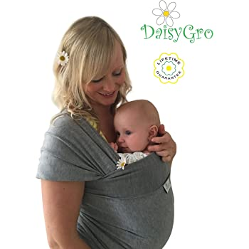 Bambino Baby Sling Wrap Carrier Breast Feeding Blue Amazon Co Uk