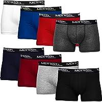 Merish Boxer Hommes Lot de 8 Coton Microfibre sous-vêtement sans Couture Homme 216D