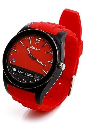Martian MN200BBB Notifer Fashion Smartwatch Con Text E App Alerts ...