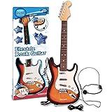 Bontempi- Guitare, 241310, Blanc/Orange/Noir