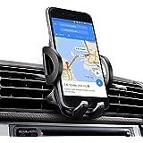 Support Téléphone Voiture, iAmotus Support Voiture Universel Rotation à 360° Auto Grille d'aération Réglable Support pour iPhone X 8 7 6s 6 plus 5s, Samsung S8 S7, HTC, LG, Smartphone et GPS Appareils