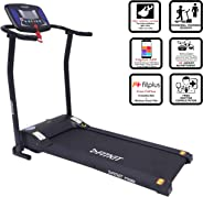 Fitkit FTK065 (2HP Peak) Motorized Treadmill with Free Dietitian,Personal Trainer, Doctor Consultation and Installation Servi