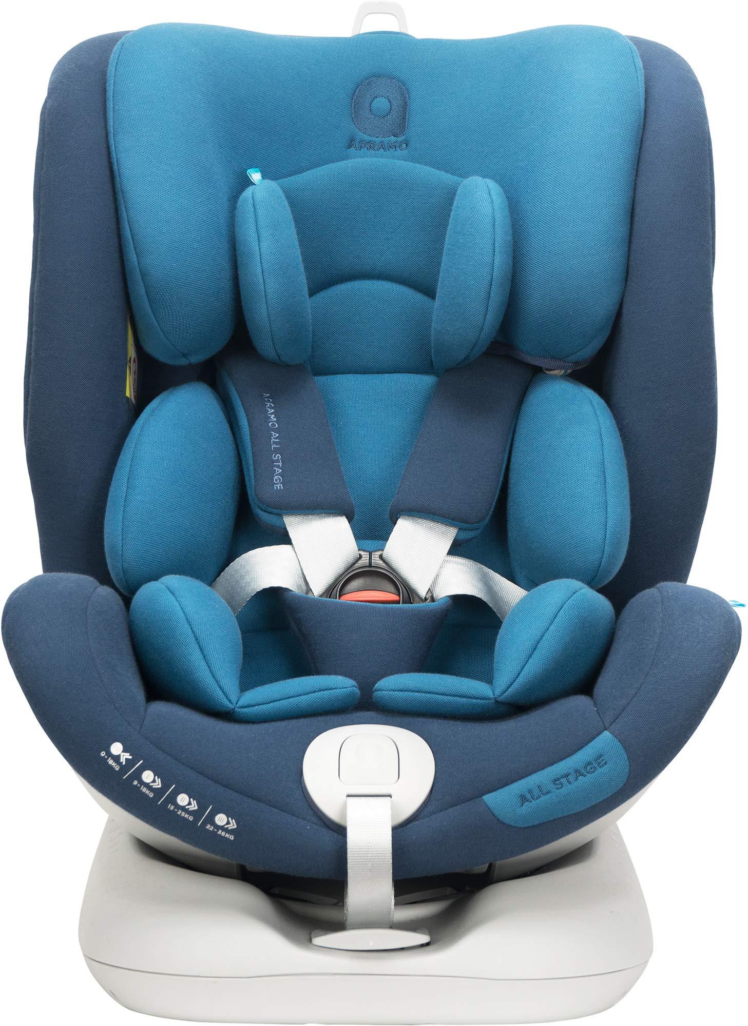 Apramo All Stage Child Car Seat Group 0+/1/2/3 Royal Blue  APRAMO