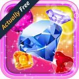 Crystal Insanity Underground: Ultimate Match 3 Diamond & Pop Jewels Puzzle Mania