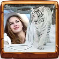 Wilde Tiere Fotorahmen