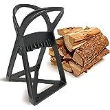 Kabin Kindle Quick träspalter – manuell spaltverktyg – stålkilspets spaltent spaltat spaltträ enkel & säker