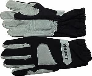 Noir toutes tailles Gants de course de karting en OMARA et polyester pour une meilleure prise en main
