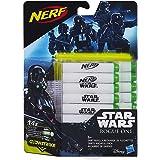 Hasbro Star Wars - B7865EU4 - Rogue One Glow-in-the-Dark 14er Darts Nachfüllpack