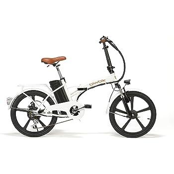 BIWBIK Bicicleta ELECTRICA Plegable Mod. Book Sport BATERIA Ion Litio 36V 12AH (Book Sport