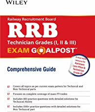 Wiley's Railway Recruitment Board (RRB) Technician Grades (I, II & III), Exam Goalpost Comprehensive Guide