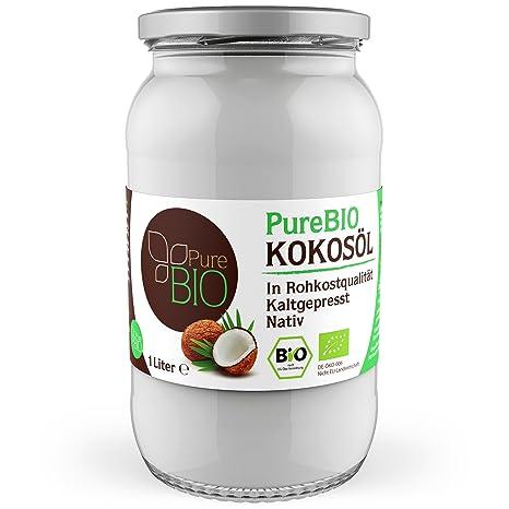 purebio kokosà l 1 000 ml 1l fà r haare haut und zum kochen