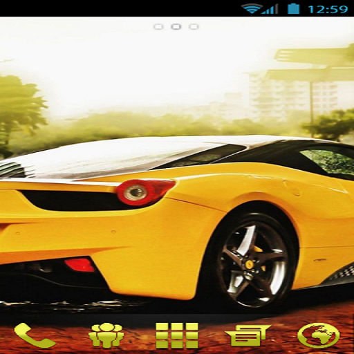 Yellow Theme (Go Launcher Next Launcher)