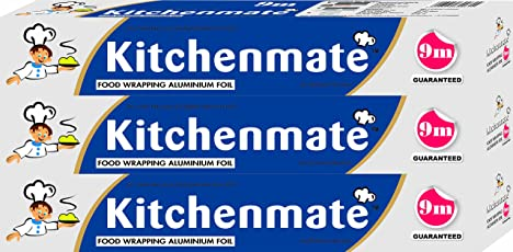 Kitchen Mate Foil - 9 m (Pack of 3)