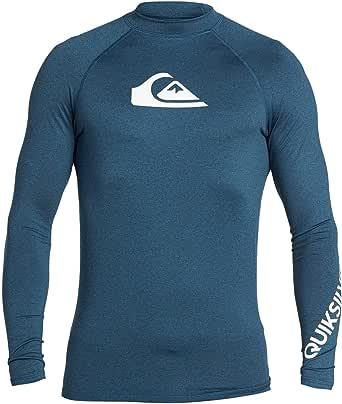 Quiksilver Men All Time Short Sleeve Upf 50 Rash Vest