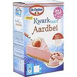 Dr.Oetker Kwarktaart Aardbei - taartmix voor 12 taartpunten (420 g)