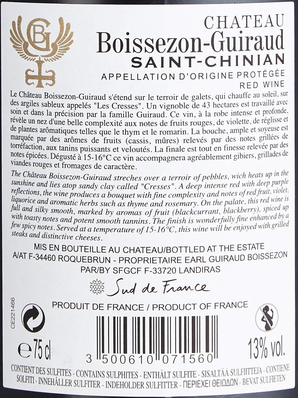 Chateau-Boissezon-Guiraud-AOP-Saint-Chinian-Halbtrocken-6-x-075-l
