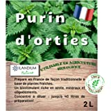 Purin d'orties 2L (existe en 5L )   100% naturel liquide et concentré   Made in France   Jusqu'à 40L de produit   Biostimulan