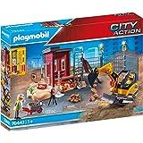 PLAYMOBIL- City Action Grúa de Construcción con Mando a ...