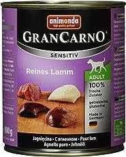 Animonda Gran Carno Hundefutter Sensitive Adult Reines Lamm, 6er Pack