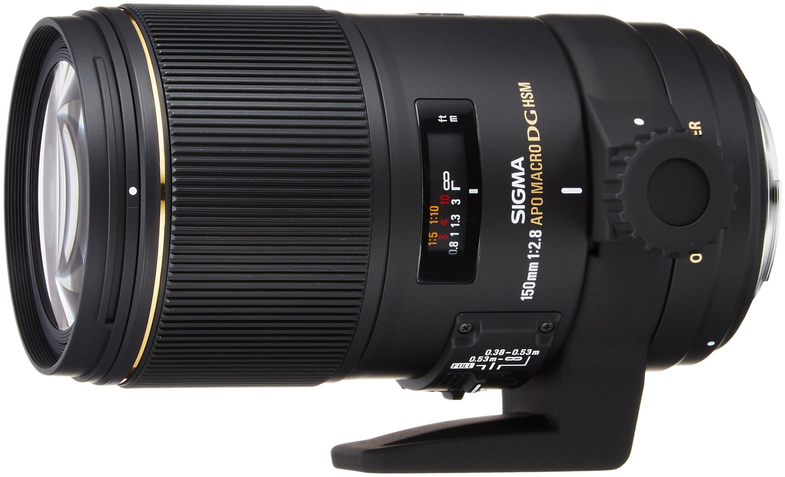 Sigma Obiettivo 150mm-F/2.8-AF EX DG OS HSM APO MACRO, Attacco CANON