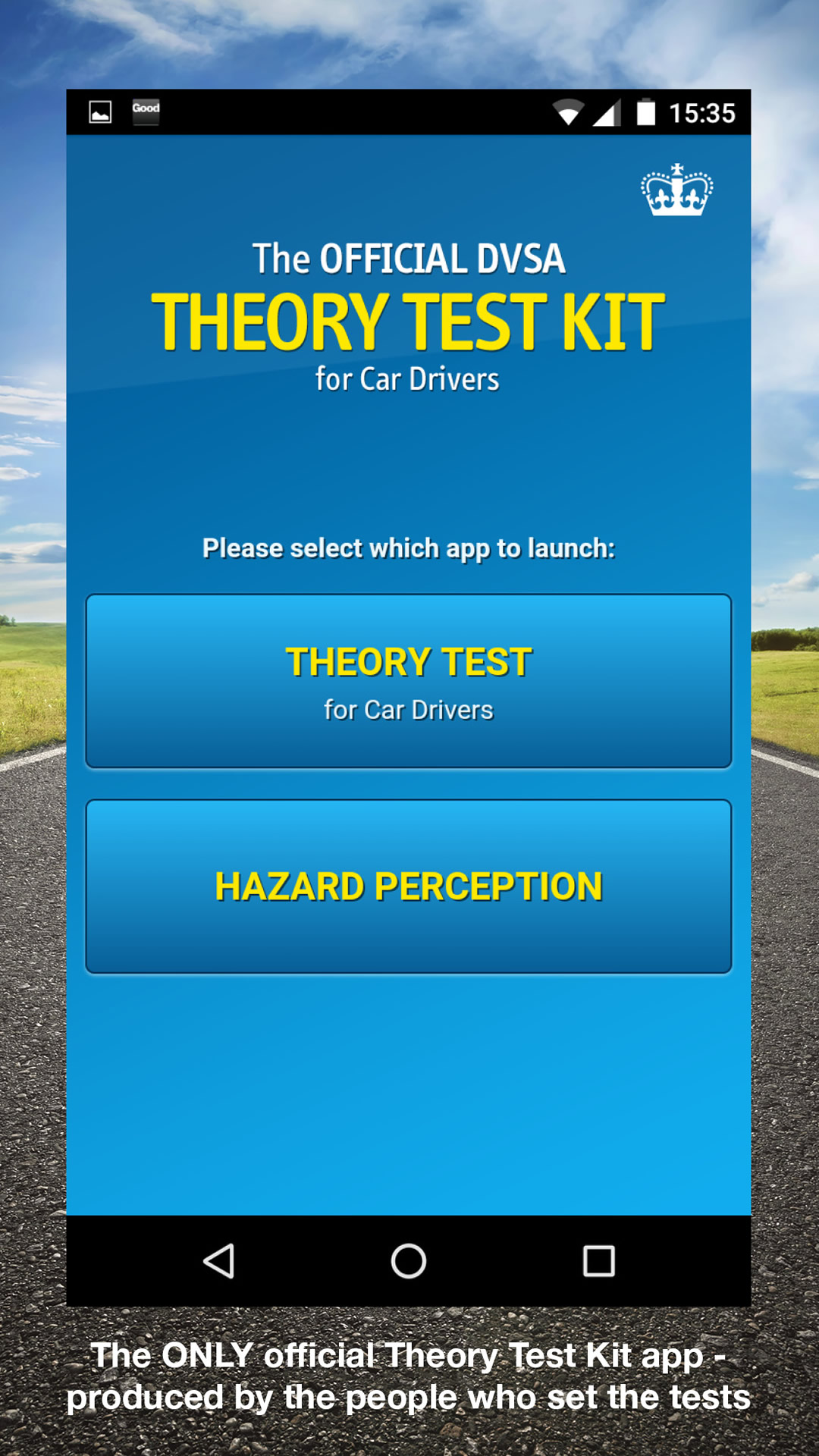 Official DVSA Theory Test Kit: Amazon.co.uk: Appstore for