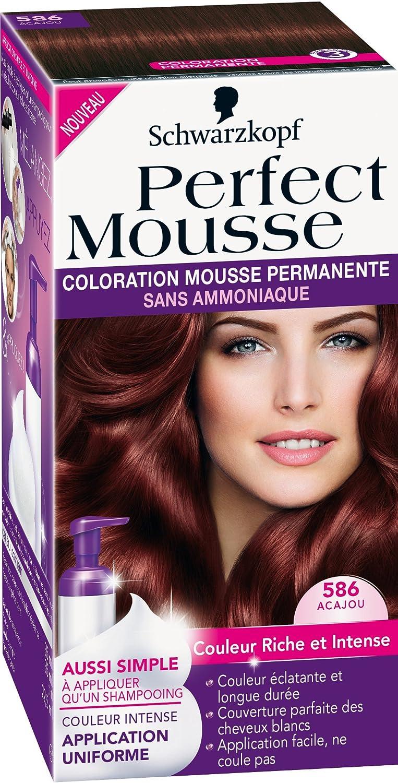 Teinture sans ammoniaque pour cheveux blancs