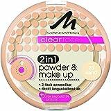 Manhattan CF 2in1 Powder & Make Up 76 1er Pack (1 x 11 g)
